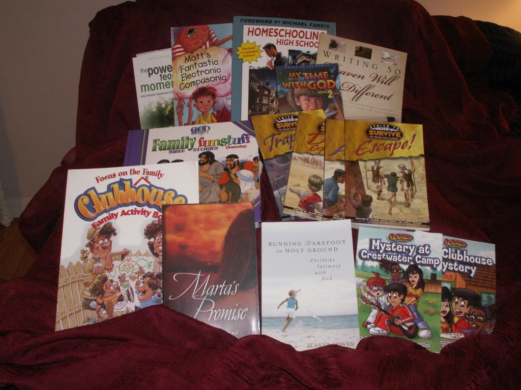 Jeanne's books
