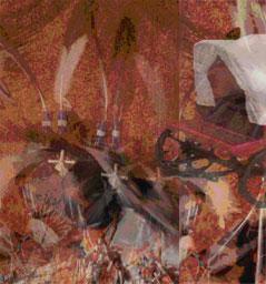 Covered wagon - Daniel Colton Under Fire