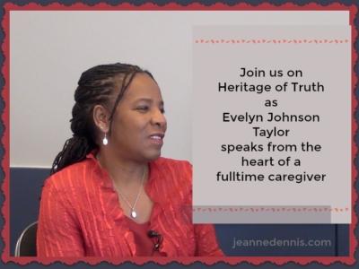 Evelyn Johnson Taylor caregiver