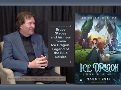 Bruce Stacey and his new movie Ice Dragon: Legend of the Blue Daisies