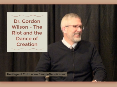 Dr. Gordon Wilson The Riot and the Dance of Creation