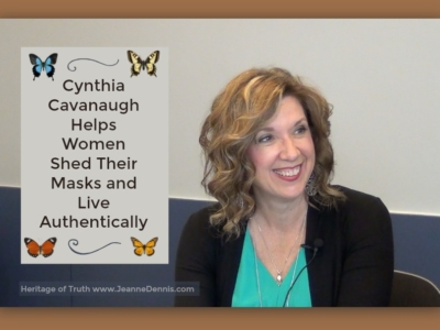 Cynthia Cavanaugh Helps Women Shed Their Masks and Live Authentically
